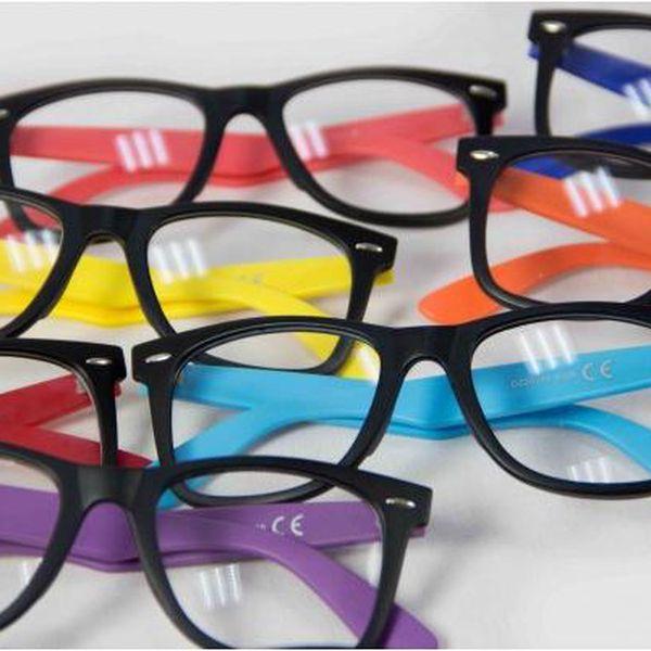Brýle s čirými skly Colors!