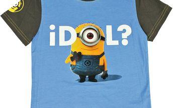 Chlapecké tričko Mimoni - modré