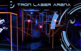 Laser Game v nejmodernější Laser Aréně v ČR