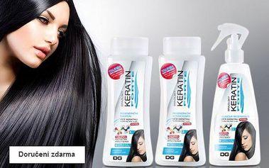 Sada vlasové kosmetiky Keratin Forte