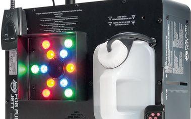 Výrobník mlhy s LED American DJ Fog Fury Jett