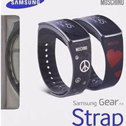 Samsung ET-SR350R výměnný pásek pro R350 Gear Fit Moschino kávový