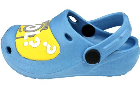 Chlapecké sandály Mimoni - světle modré