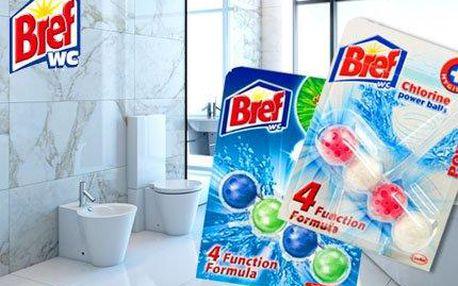 Výhodné balení 10 WC bloků BREF Power Activ!