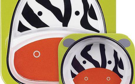 Skip Hop Zoo Jídelní set - Zebra