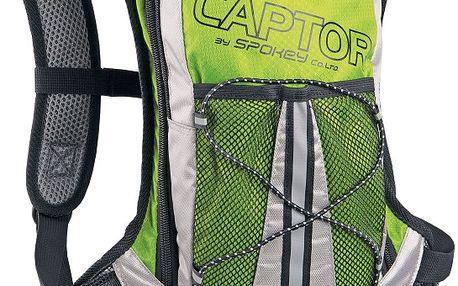 SPOKEY Captor cyklistický a běžecký batoh zelený 2l