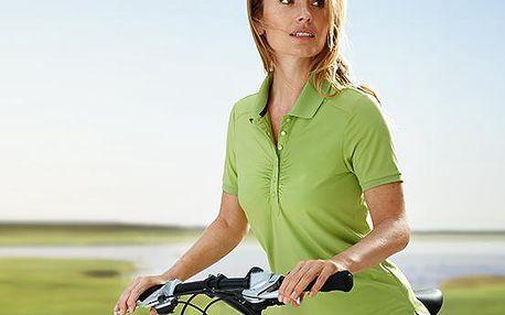 Tchibo, Dámská sportovní polokošile, zelená S