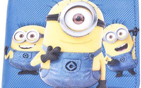 Chlapecká peněženka Mimoni, žluto - modrá