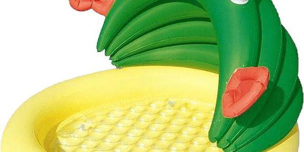 Bestway Nafukovací baby bazének se stříškou, žába
