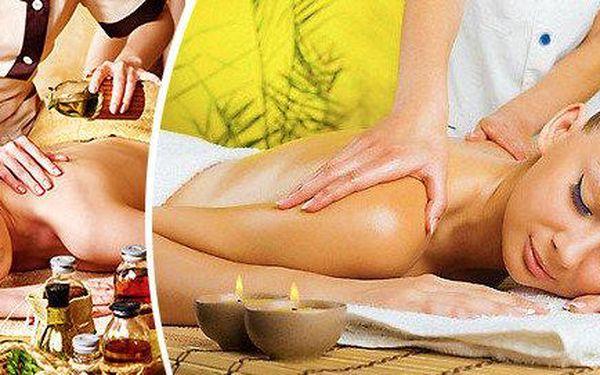 Certifikovaná klasická nebo odborná masáž dle vašeho výběru