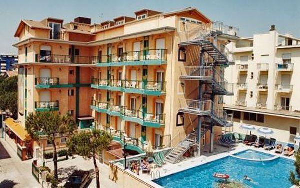 Itálie, oblast Lido di Jesolo, doprava vlastní, polopenze, ubytování v 3* hotelu na 8 dní