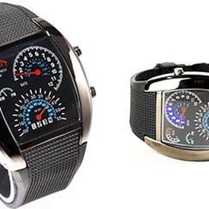 Sportovní a stylové binární LED hodinky pro pány se slevou 69 %