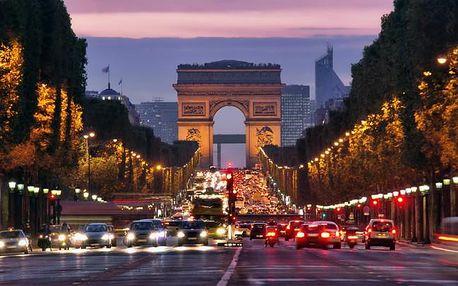 Paříž s návštěvou Versailles a 1x snídaní