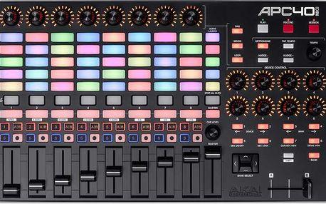 USB kontroler pro Ableton Live Akai APC40 MKII