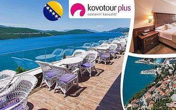 Luxusní dovolená u moře v Bosně a Hercegovině