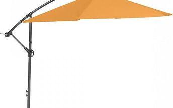 RIWALL Miami - boční slunečník 2,7 m (oranžový)