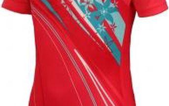 Dívčí cyklistický dres Arcore ALIN 116-134 růžová 128/134
