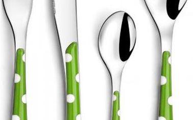 Amefa Sada příborů Zephyr 24 kusů, Green