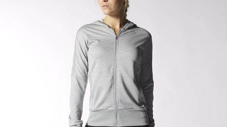 Adidas Performace Beyond the Run Hoodie, šedá, 34