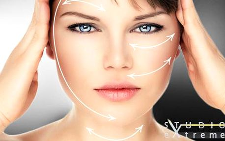 Omlazující hloubkový lifting obličeje a podbradku lékařským přístrojem THERMEXILIS
