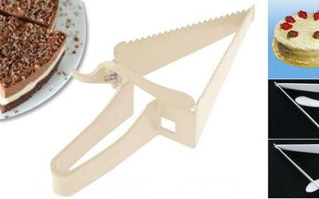 Kráječ na dort Cake Cutter - jeden kousek jako druhý!