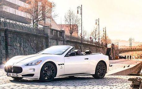 Jedinečná jízda vašeho života! Řízení Maserati GrandCabrio 4,7 S!
