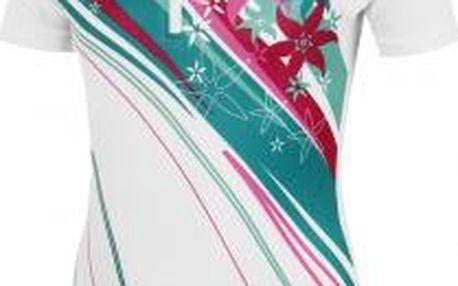 Dívčí cyklistický dres Arcore ALIN 140-170 bílá 152/158