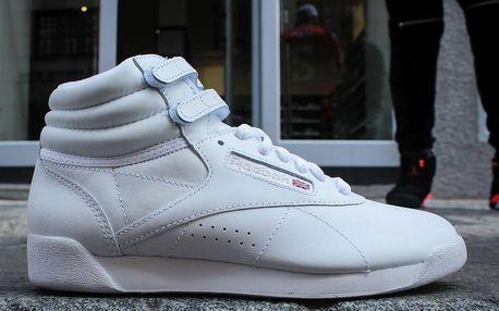 Dámské Boty Reebok Classic F/S Hi White Silver