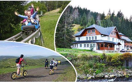 3 dny letní relax ve Špindlu pro dva - Chata Michlák - Špindlerův Mlýn