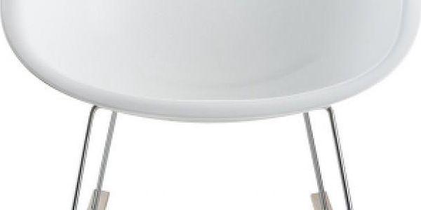 Houpací židle Gliss 350, bílá - doprava zdarma!