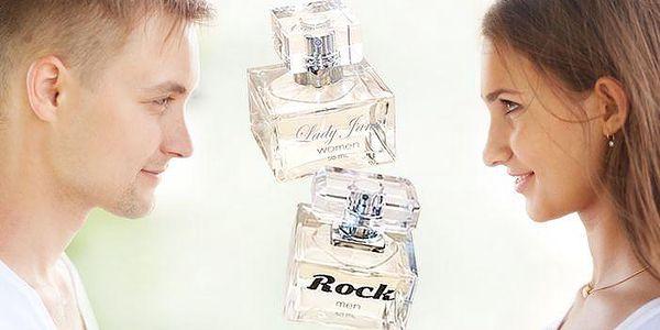 Parfém Lady Jane pro ženy nebo Rock pro muže