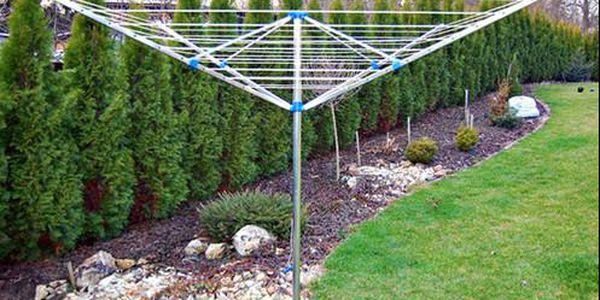 4ramenný hliníkový zahradní sušák na prádlo s doručením zdarma