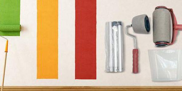 Plnicí válečky na malování: Rychlá práce bez nepořádku!
