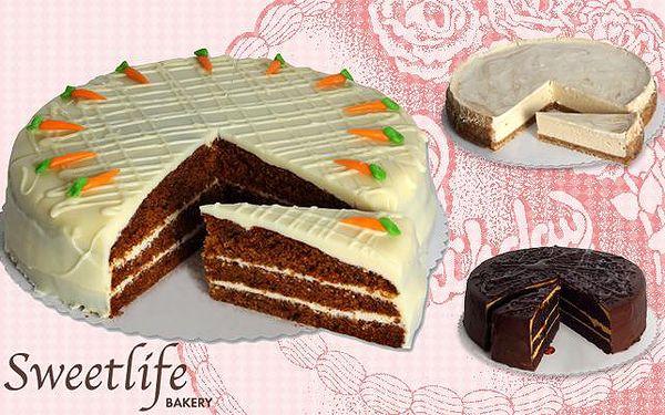Vyhlášené DOMÁCÍ DORTY z cukrárny Sweet Life! Sleva na celé dorty i zákusky!