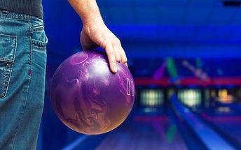 Pronájem bowlingové dráhy na 60 minut v Hradci Králové