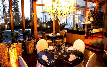 Luxus a romantika pro 2 v hotelu Morris Nový Bor!