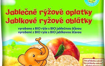 BIO Jablečné rýžové oplatky 35g