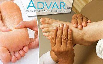 60min reflexní terapie nohou k posílení imunity