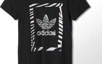 Stylové dámské triko adidas Zebra Trf Tee