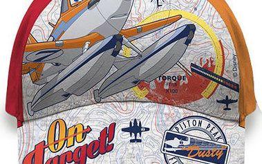 Chlapecká kšiltovka Letadla - oranžová