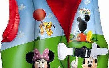 Nafukovací plavací vesta - Mickey/Minnie, rozměr 51x46 cm