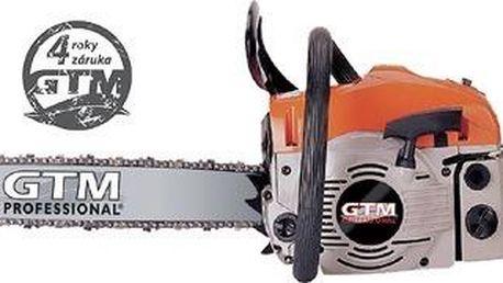 GTM GTC 45 benzínová řetězová pila 16 + ZDARMA olej na mazání řetězů v hodnotě 130 Kč