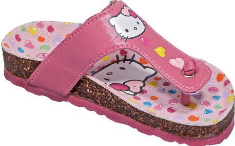 Dívčí sandály Hello Kitty (menší) - růžové