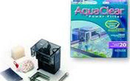 Patentovaný filtrační systém Hagen Filtr Aqua Clear 20 vnější