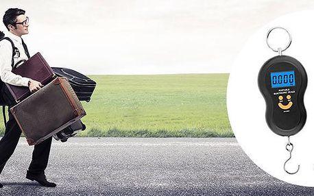 Závěsná ruční váha na zavazadla