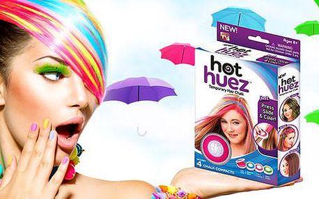 Hot Huez! Smývatelné barvy na vlasy