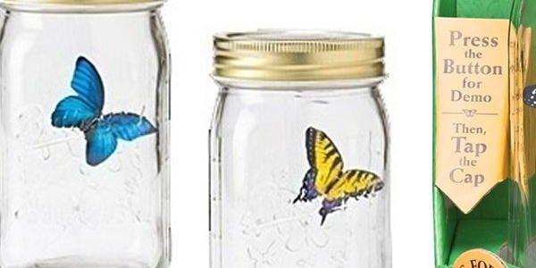 Věčný motýl uzavřený v lahvi dokáže bavit celé hodiny v kuse. Vhodné pro všechny věkové kategorie!!