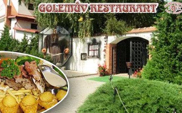 Masová hostina pro 2 osoby v Golemově…