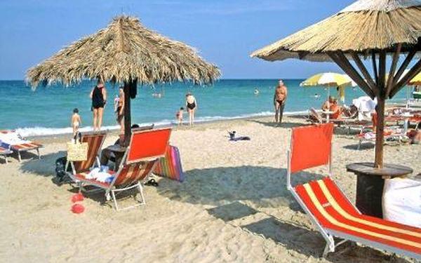 Alba Adriatica (Palmová riviéra) na 10 dní - doprava v ceně