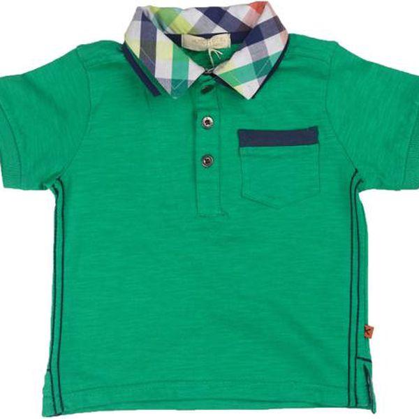 Chlapecké polo tričko - zelené